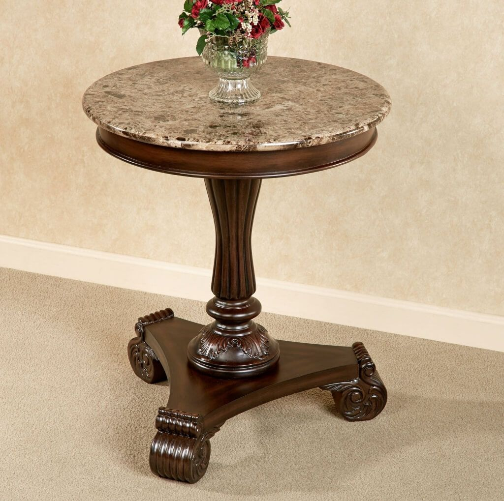 drop gorgeous half round occasional tables circle table argos tablecloth plans rental marble hall reception wall design high top office granite end glass accent full size shaker