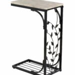 drop leaf end table wycombe solar metal accent wicker outdoor furniture bunnings worlds away junior drum stool rustic white nightstand side design apartment decor coffee runner 150x150