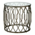 drum accent table gold cala hammered threshold metal target silver pottery barn side storage frog small cabinet desk combo brass finish coffee glass center round cover tyndall 150x150