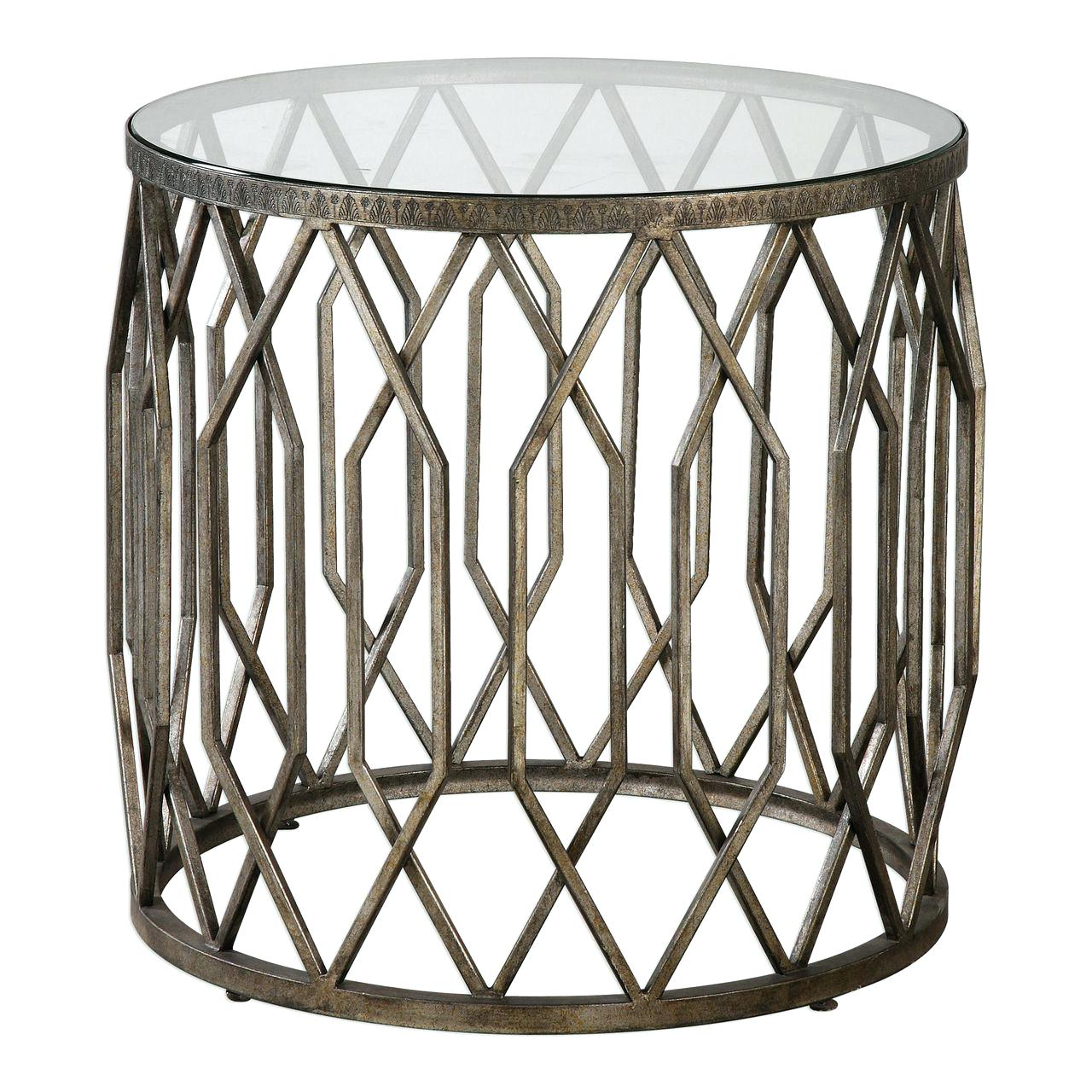 drum accent table manila cylinder brass metal side silver pottery barn storage accessories for house decoration circular stacking tables wooden patio with umbrella hole oriental