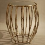 drum accent table manila cylinder brass metal side silver storage what sheesham wood antique tables with drawers long thin potting white and black garage door threshold quatrefoil 150x150