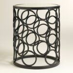drum accent table metal rain cylinder target storage baroque coffee dining bench small cabinet counter high set square tablecloth round beach themed lamp shades with wheels ikea 150x150