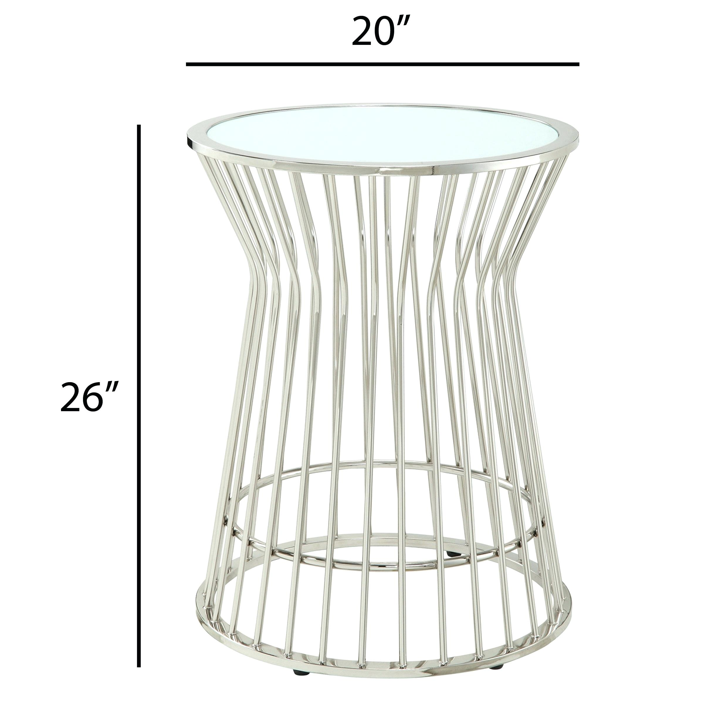 drum accent table target storage threshold silver manila cylinder project metal outdoor jcpenney dishes kmart dining kitchen lighting narrow couch modern furniture mississauga