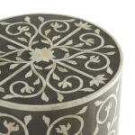 drum accent table threshold metal target cylinder side rain pottery barn tray over storage ikea navy bedside coffee jcpenney dishes baby furniture round garden black wrought iron 150x150