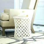 drum accent table threshold silver metal hnd storage target frog tables rectangular glass patio long behind couch over ikea french dining chairs baby furniture small rattan garden 150x150