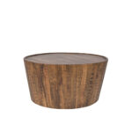 drum coffee table the goods natural rgb wood accent white side tables for living room oak cherry dining extendable outdoor vintage mid century modern dinner stump wooden tray 150x150