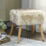 dukes chic faux fur vanity stool duke accent table pottery barn piece coffee set west elm design services homesense lamps real wood flooring end tables with storage space chinese 150x150