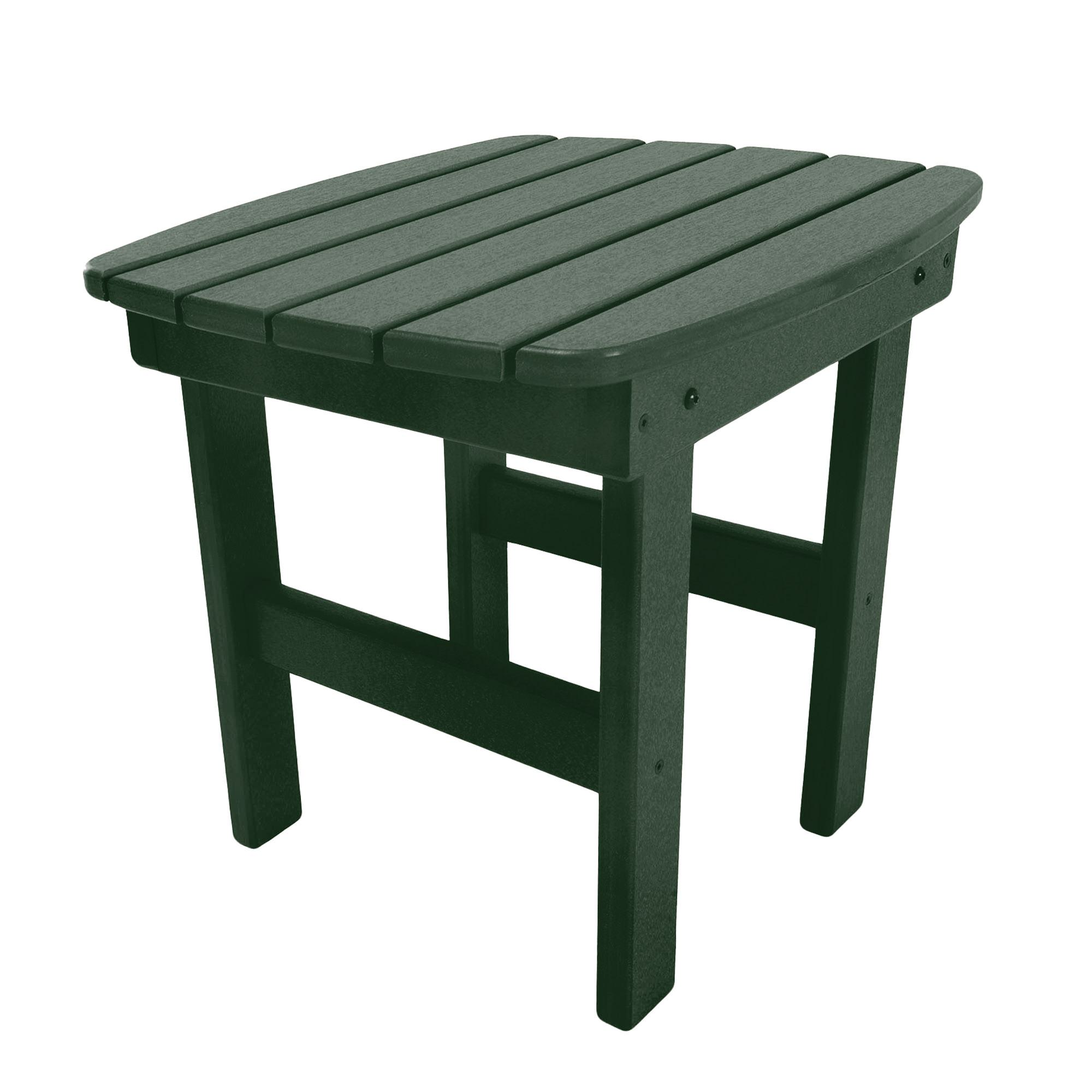 durawood adirondack side tables pawleys island patio table outdoor green modular bedroom furniture plastic garden coffee antique end with leather inlay small student desk blue
