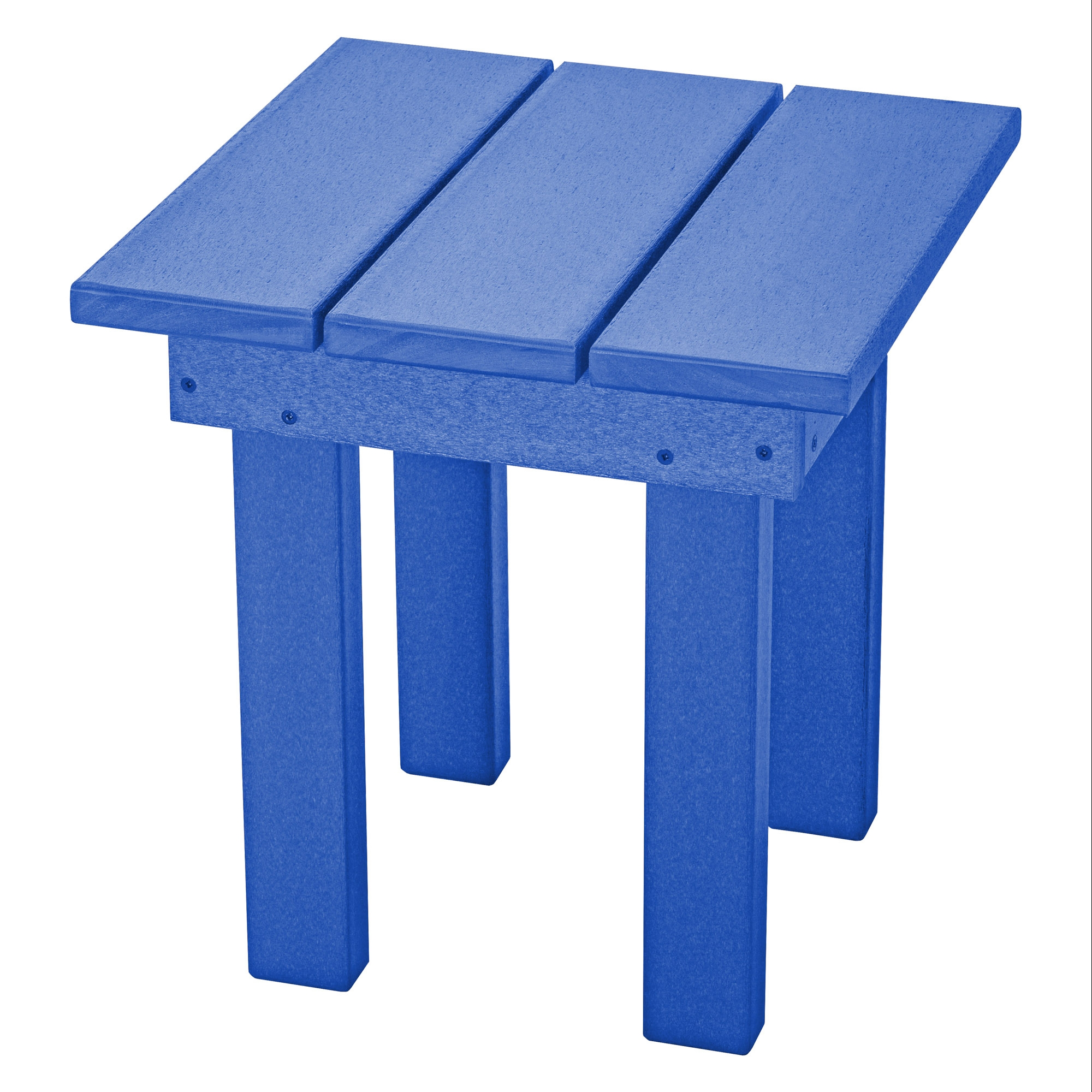 durawood square adirondack side table pawleys island hammocks small blue outdoor beverage cooler ikea kids storage boxes bar height kitchen lawn chair cushions antique round wood