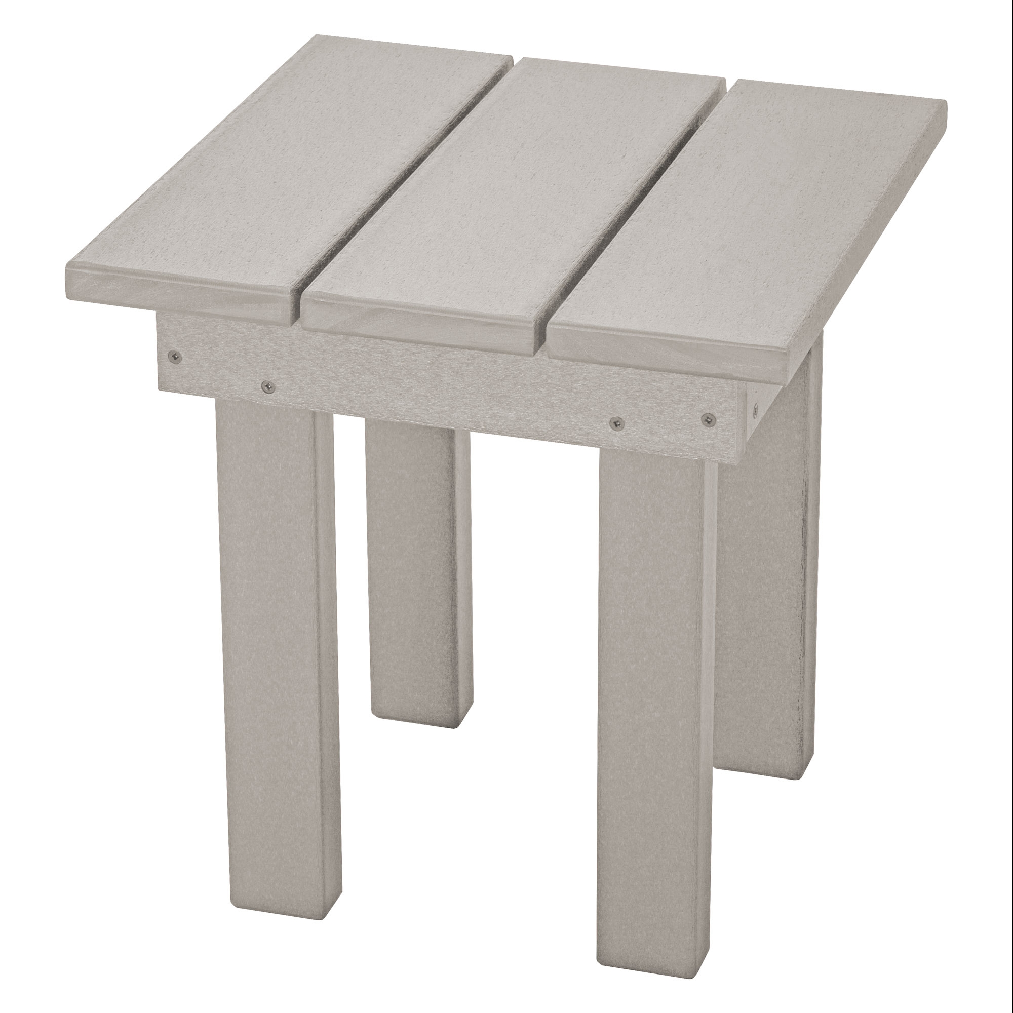 durawood square adirondack side table pawleys island hammocks small gray outdoor coffee decorative accents ideas maple dining room furniture round white metal corner chests