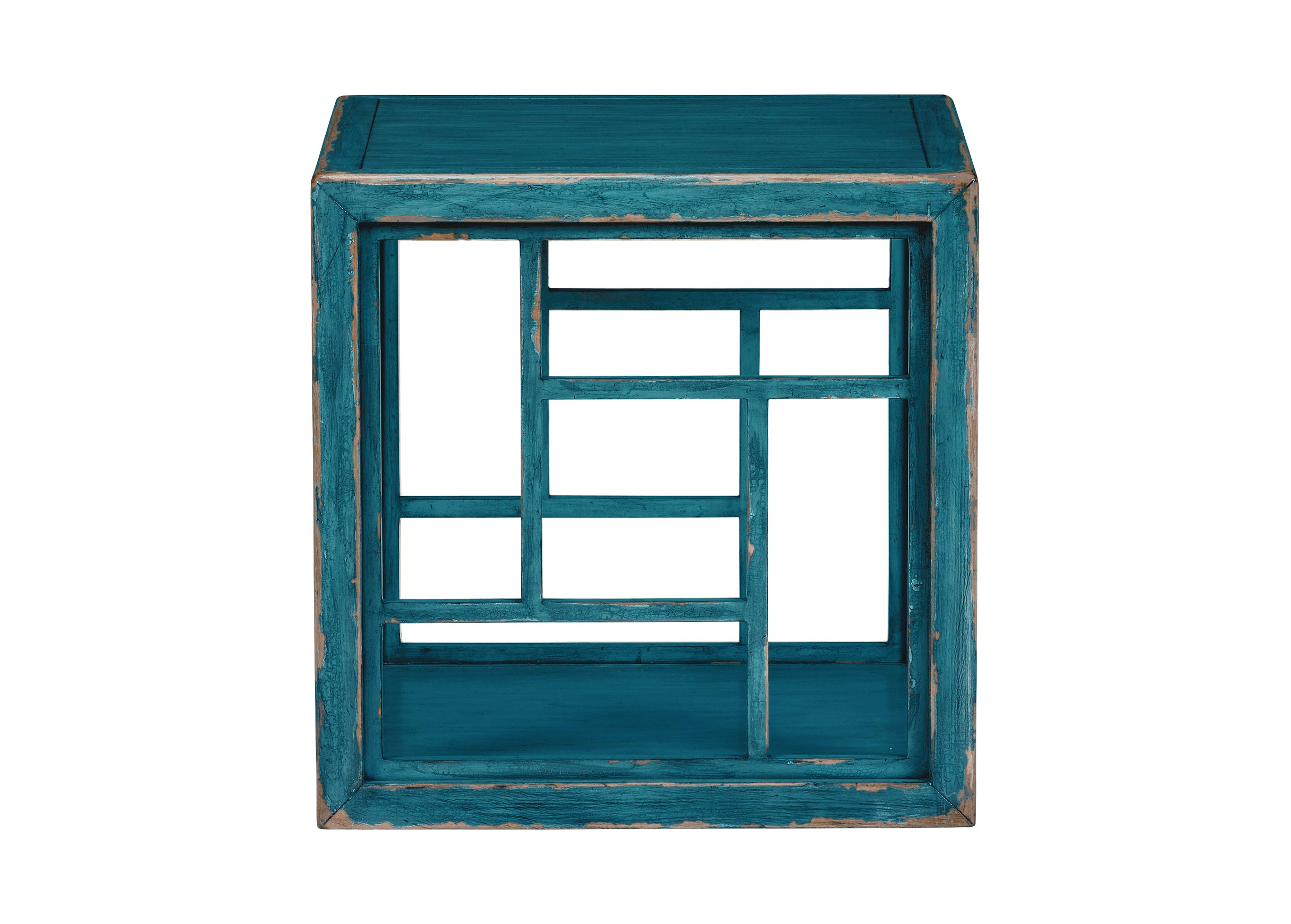 dynasty fretwork side table accent tables ethan allen front blue previous diy sofa driftwood west elm free shipping coupon code ceramic cloth oriental style lamps grey geometric