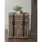 east main colwell brown square rattan accent table free mains wicker storage shipping today bar type dining chair sets for living room round patio and chairs industrial end diy 150x150
