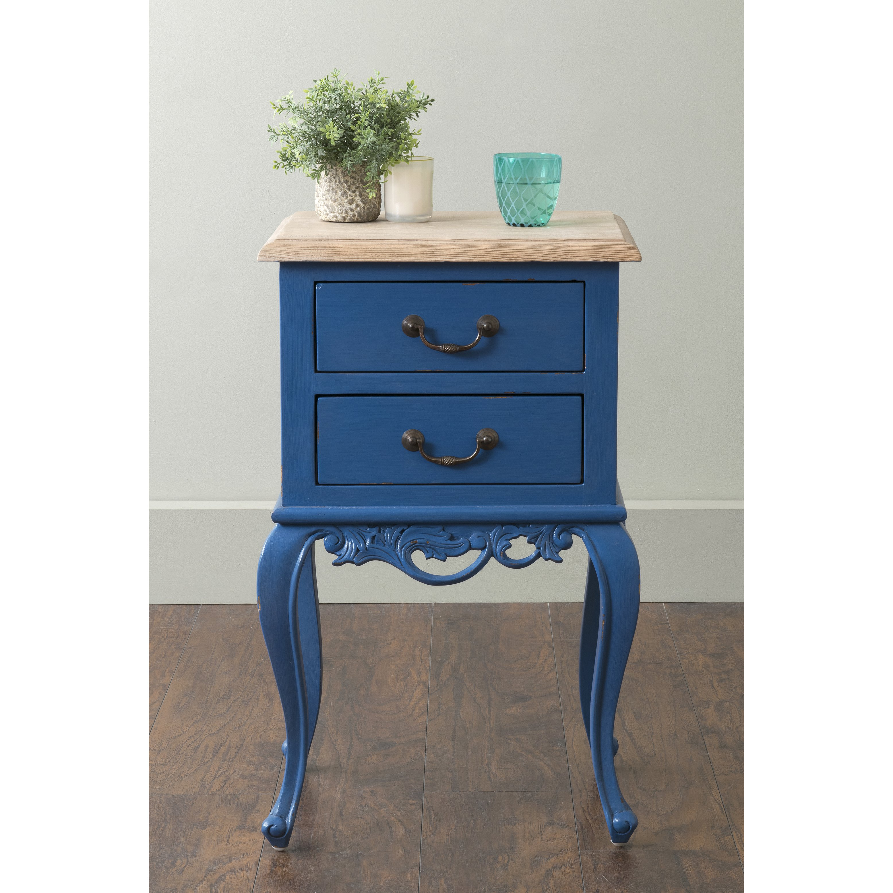 east main herrin blue square traditional teakwood accent mains table teal free shipping today counter height dining chairs small antique marble top demilune console tall with
