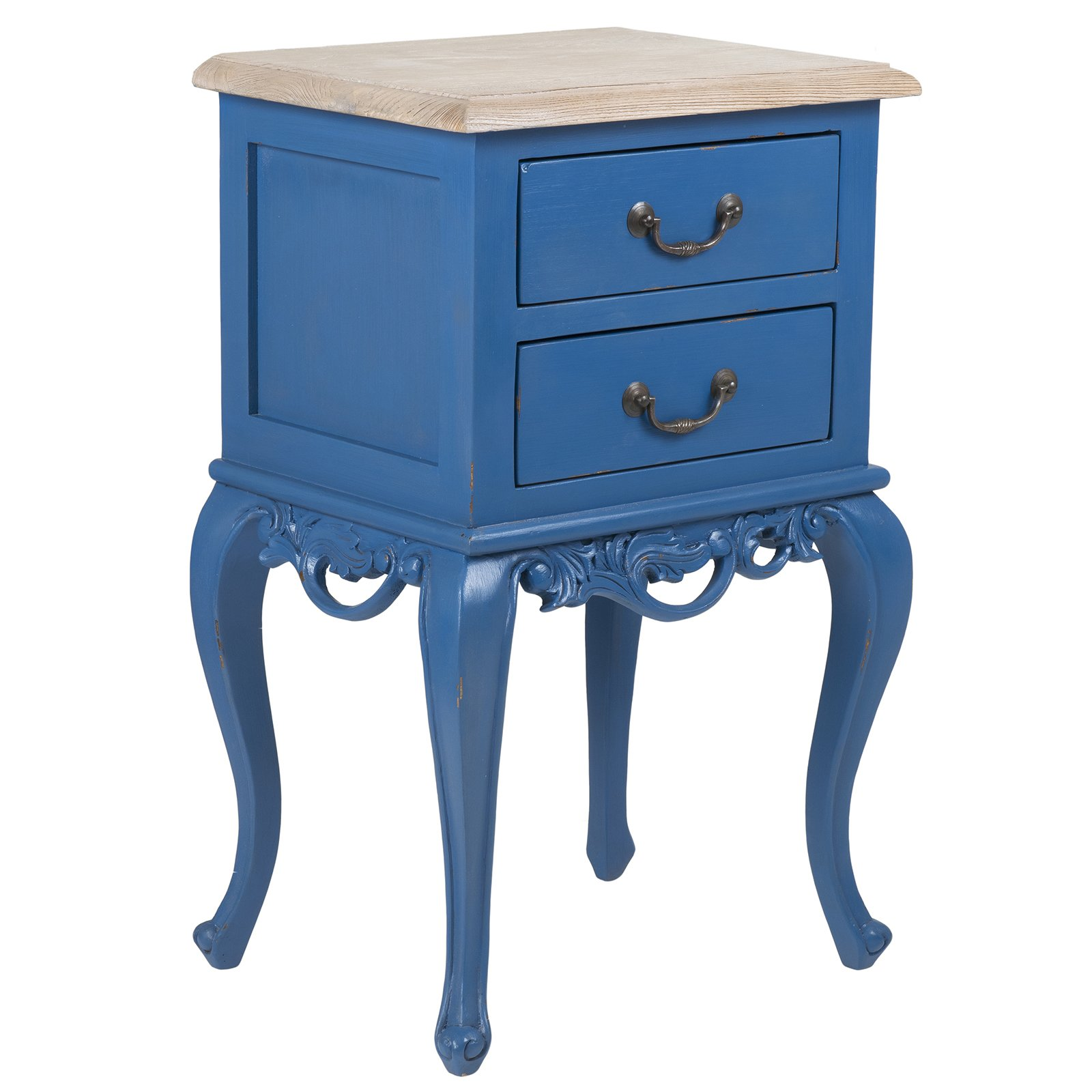 east main herrin blue square traditional teakwood accent mains table teal free shipping today pier one chairs clear plastic console with shelves and drawers pedestal kitchen
