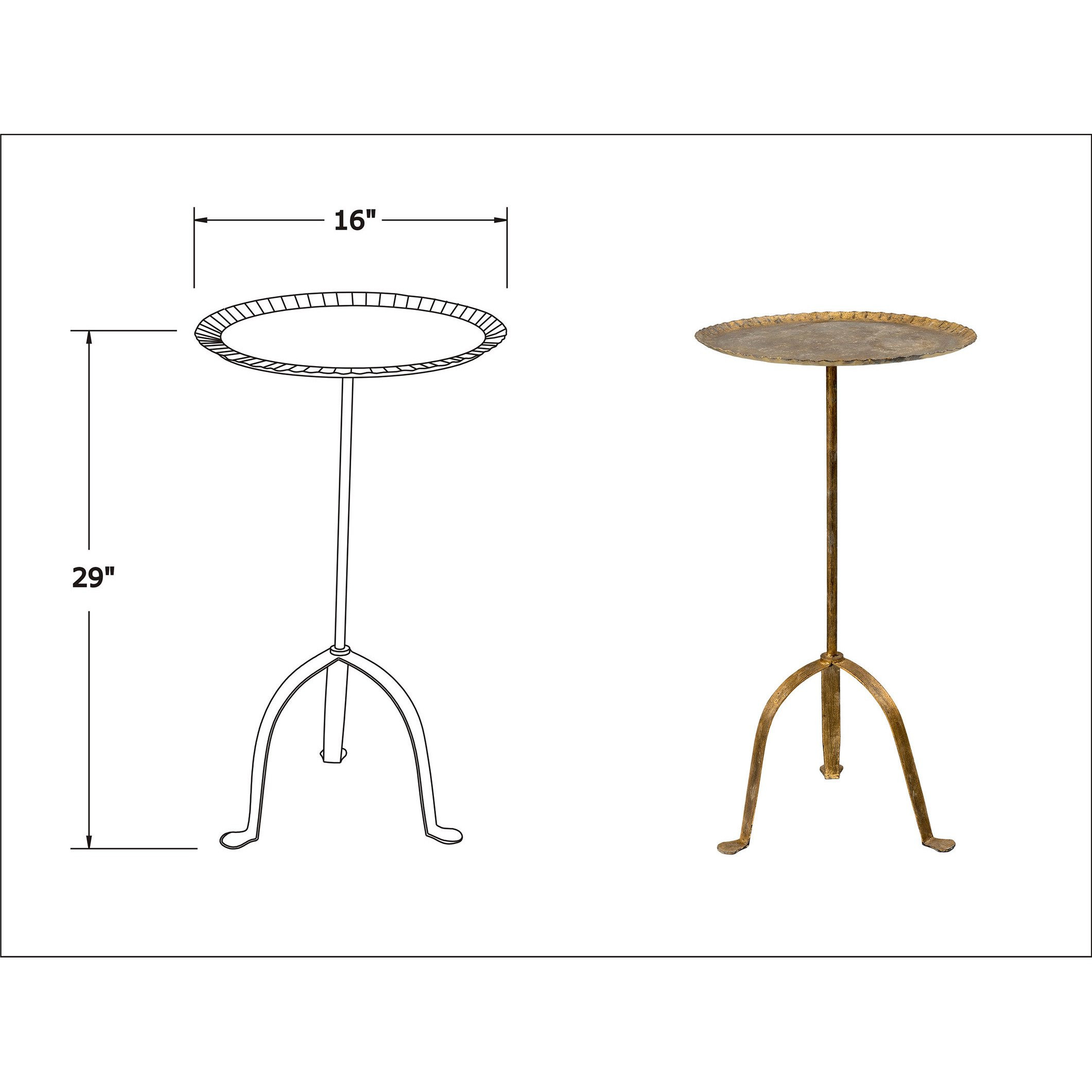 east main hooper gold round aluminum accent table free mains console shipping today monarch pottery barn art concrete garden and chairs furniture nest tables black ikea patio set