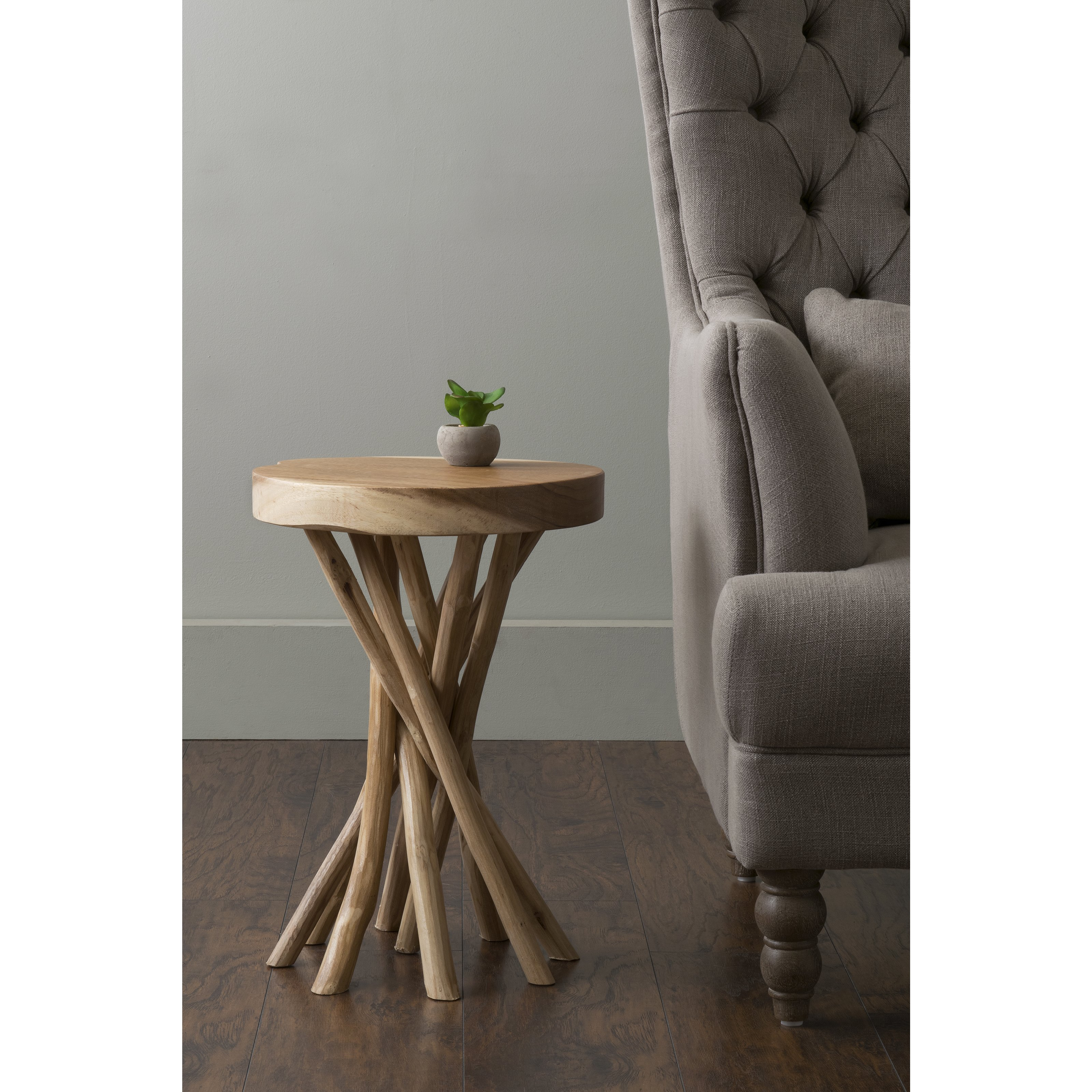 east main kenton brown teakwood round accent table free gray antique wheels for coffee chest entryway bedroom curtains ikea quilted toppers knotty pine bar stools west elm glass