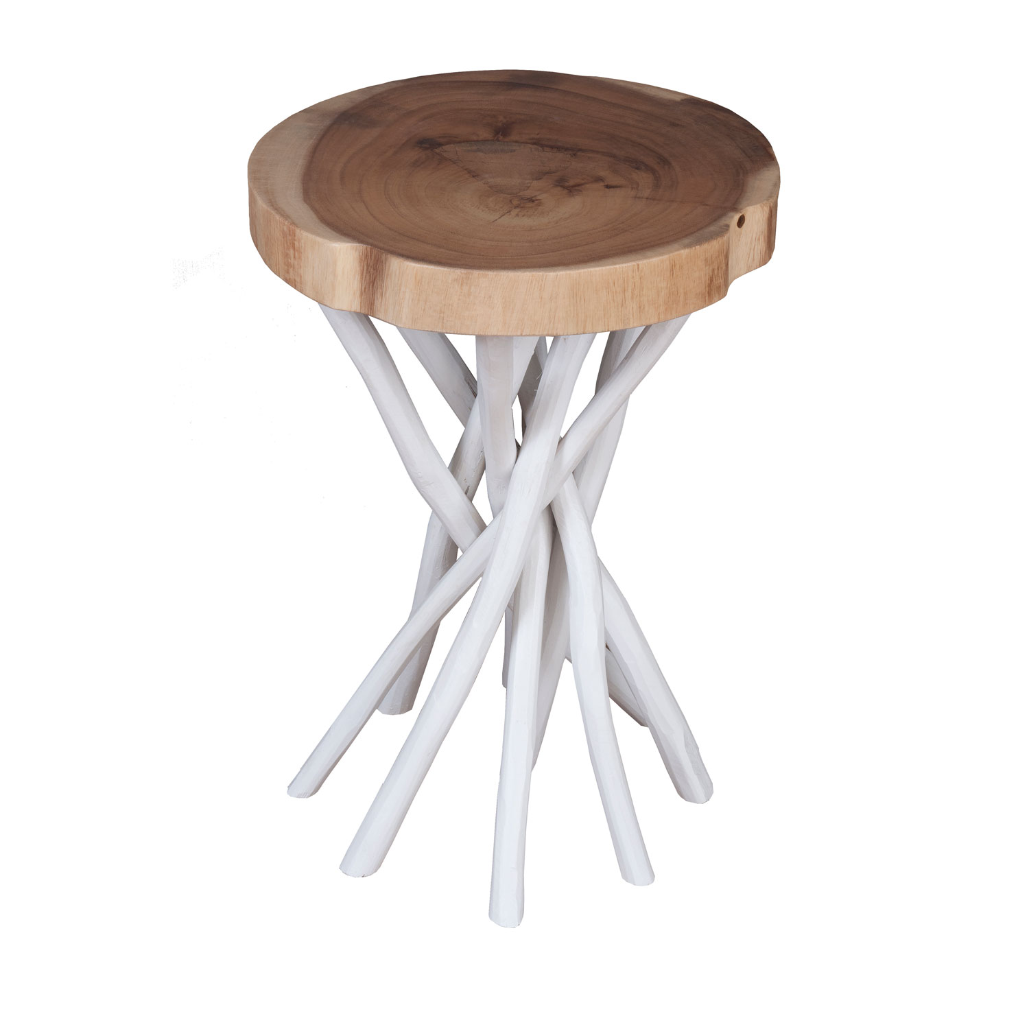 east main lancer white teakwood round accent table hover zoom small metal outside tables oak side tree lamp outdoor glass top oversized umbrellas monarch specialities coffee
