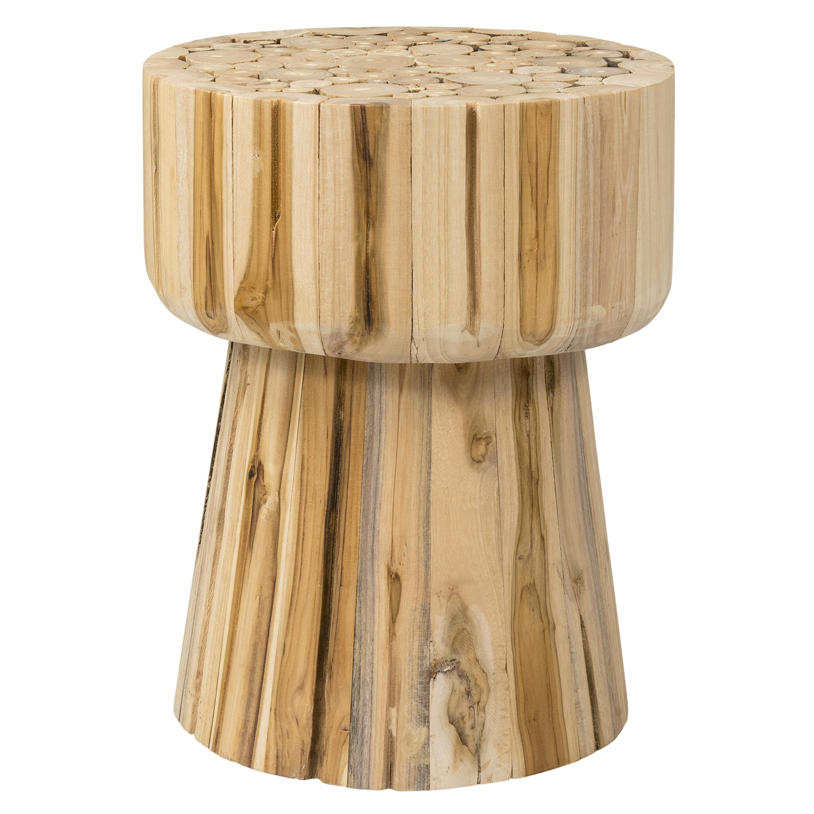 east main lawton brown round teak log accent table mains wood free shipping today small corner side target white lamp entryway folding outdoor pillows chinese bedside lamps