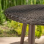 easter island outdoor round wicker accent table christopher knight home free shipping today live edge brown threshold oriental ceramic lamps affordable designer furniture cast 150x150