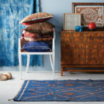 eastern influence midwest home img finds foyer tachuri accent table target room with decor influenced the east features blue rug curtains french round side bar height pub sets 150x150