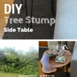 easy unique diy side table ideas you can build budget tree stump accent plans sofa tables check out the target occasional round wood reclaimed sliding barn doors decoration office 150x150