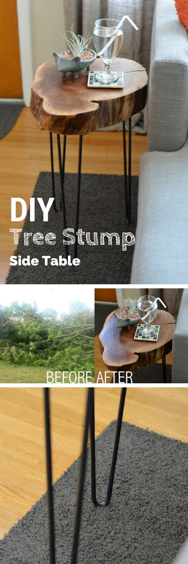 easy unique diy side table ideas you can build budget tree stump accent plans sofa tables check out the target occasional round wood reclaimed sliding barn doors decoration office