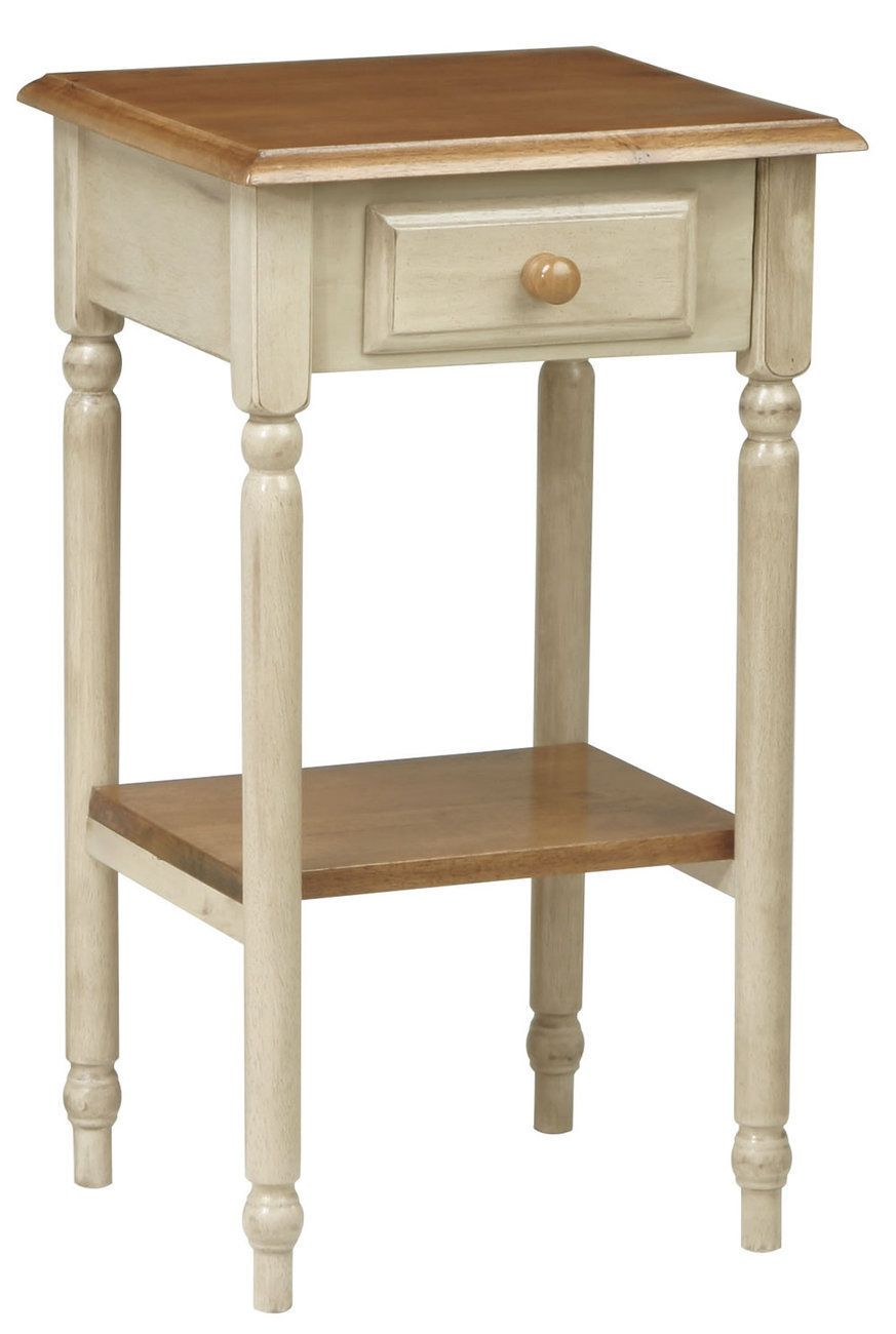 eco wood antique white cherry finish telephone entry accent end table display wicker lawn furniture target back patio pottery barn bar art desk hobby lobby gift registry glass and