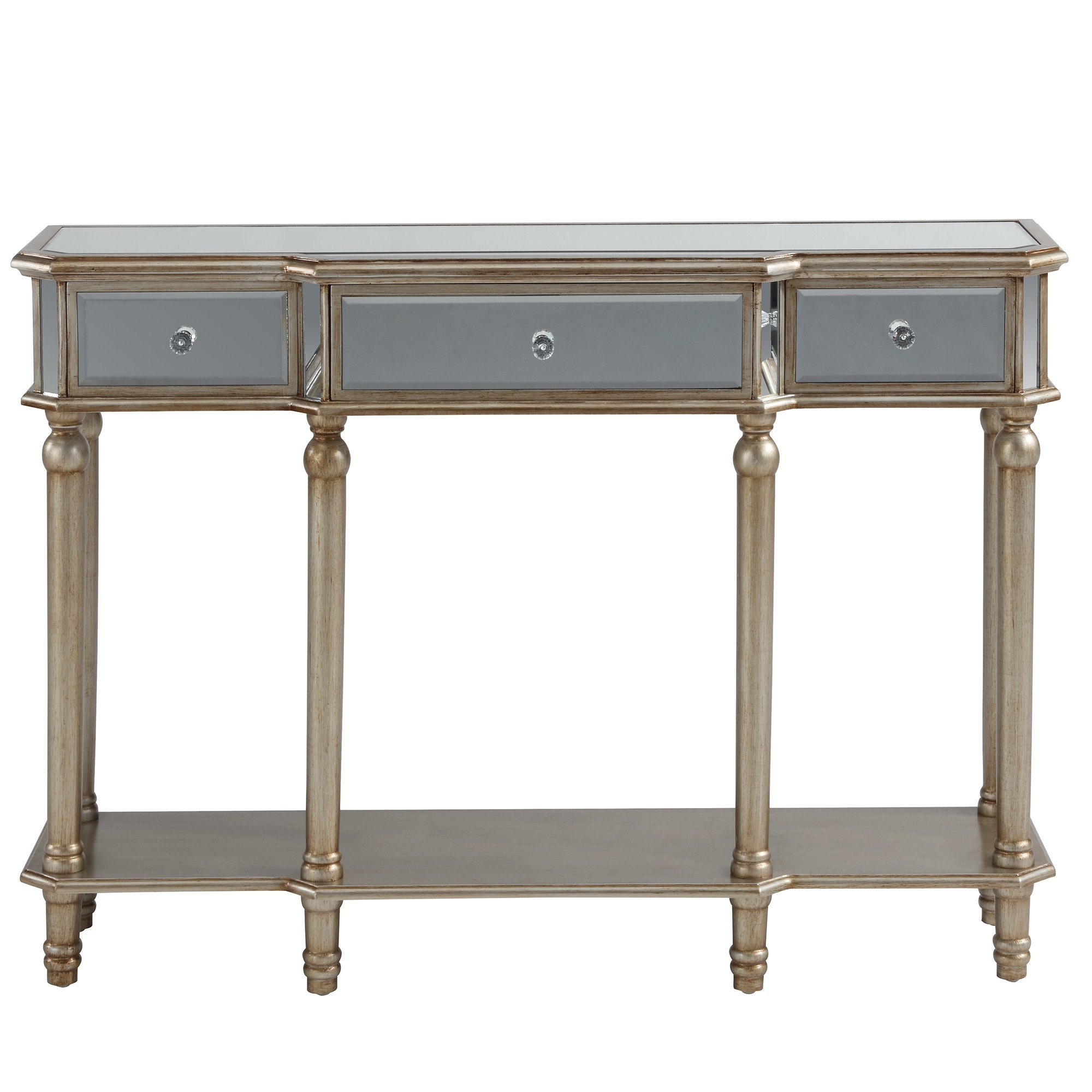 eden console table silver tables cabinets accent captivating curio cabinet with mirrored glass door wood doors half oval breathtaking powell black doo drawer white telephone barn