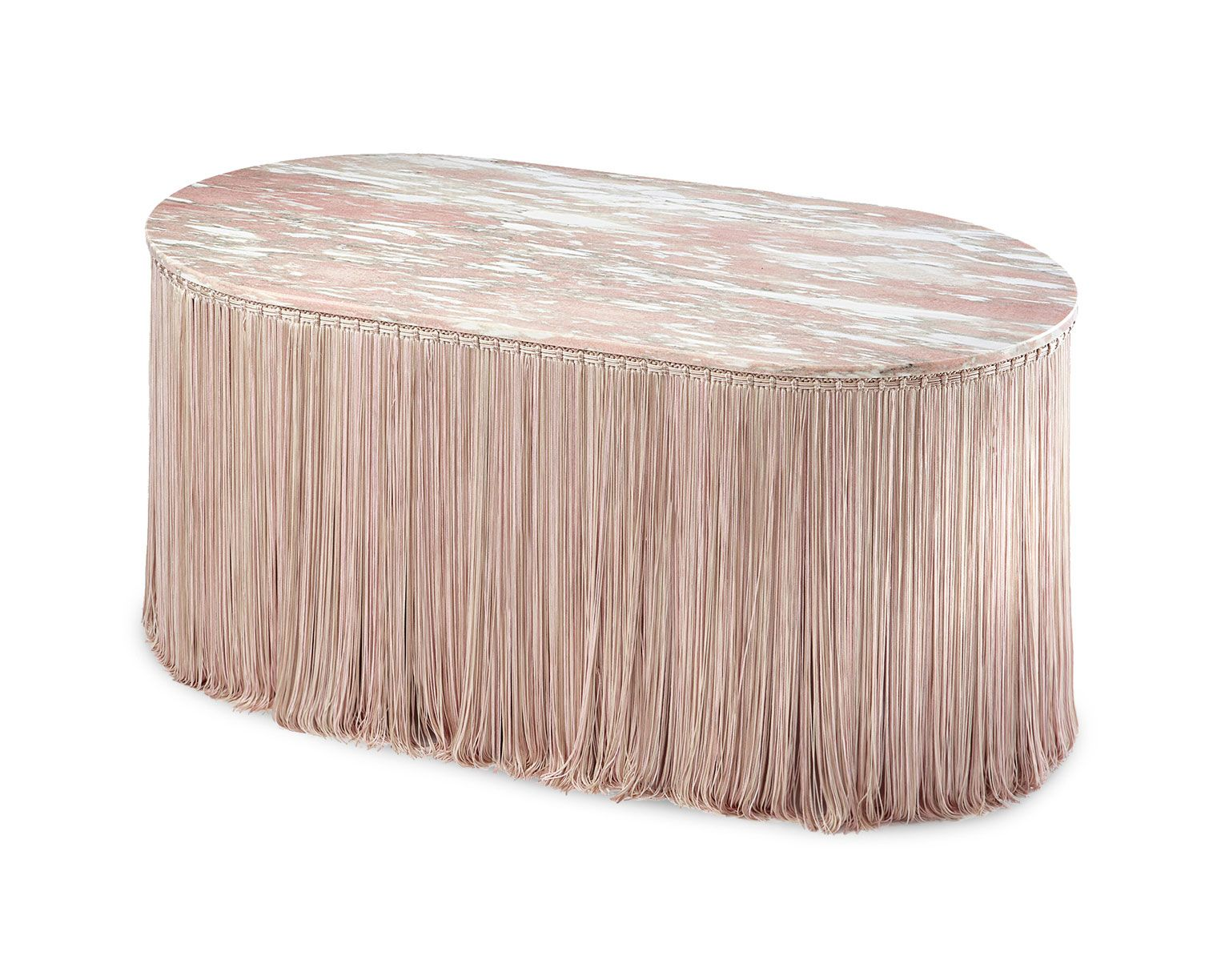 editions milano new tripolino objeto low tables pink marble accent table fringes cristina celestino outdoor coffee clearance half moon mirrored pottery barn kitchen dining room