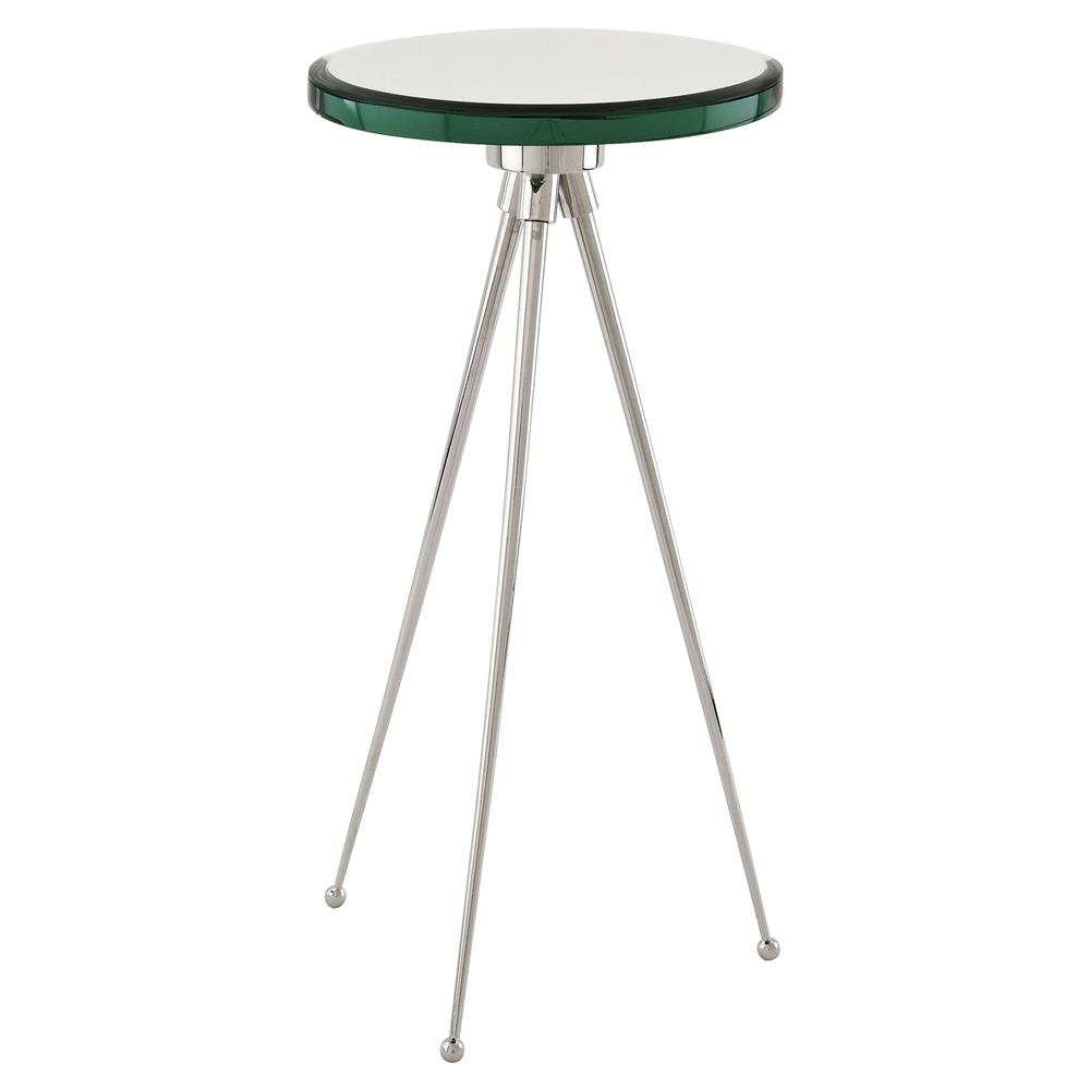eichholtz spectrum modern classic bevelled mirror glass top round product hawthorne accent table side end kathy kuo home furniture companies shabby chic ture frames outdoor wood