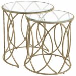 elana bronze iron round nesting tables home accent table living room side pier imports white and wood nest gold coffee hexagon christmas tablecloth runner lamp drum throne for 150x150
