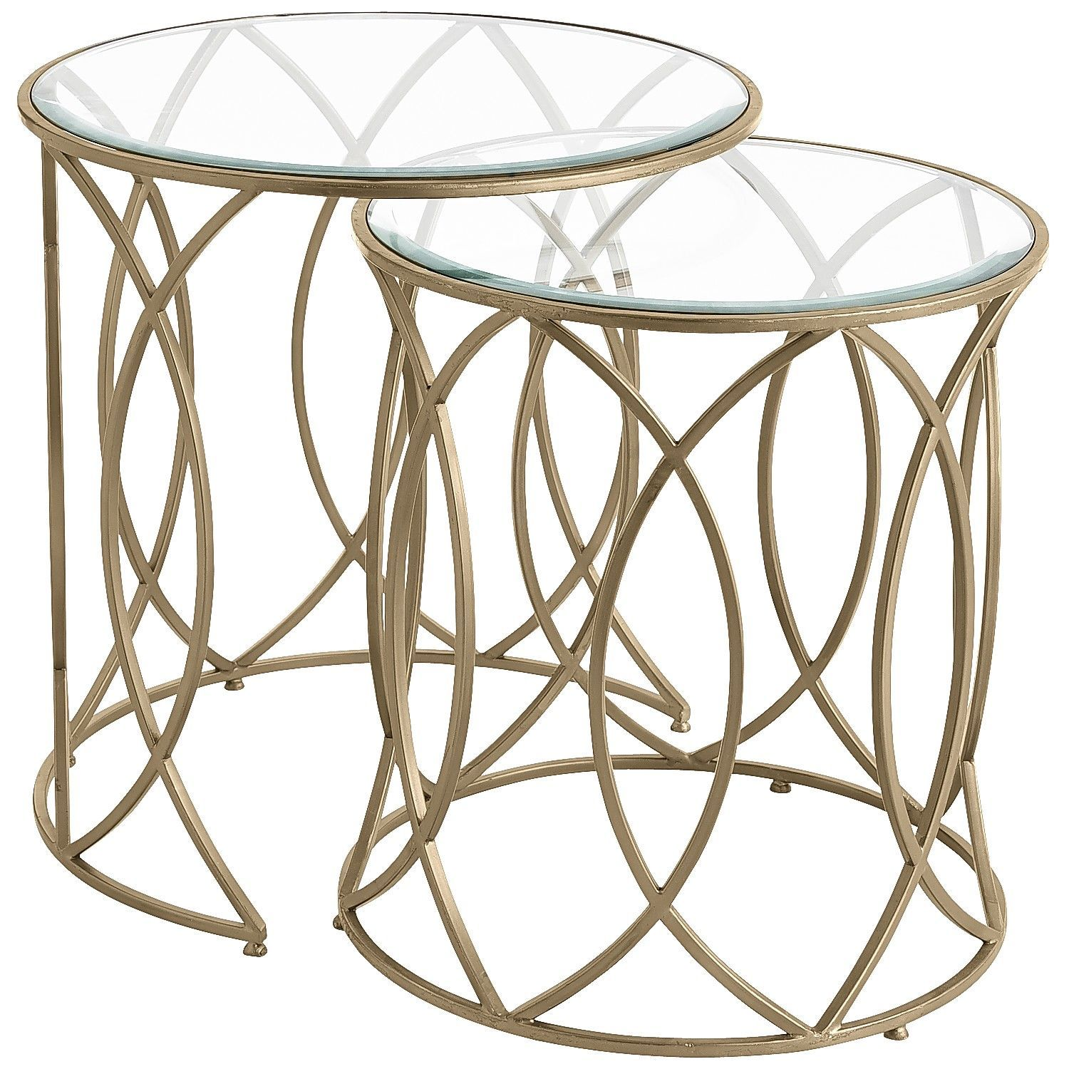 elana bronze iron round nesting tables home room essentials stacking accent table living side pier imports hampton bay patio set tablecloths handmade wood end floor edging tipton