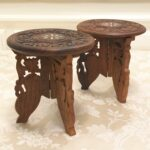 elegant carved wooden display candle holder small accent table shelf mini excited share this item from etsy yoga decor used patio furniture wood legs oak chairs long bar height 150x150