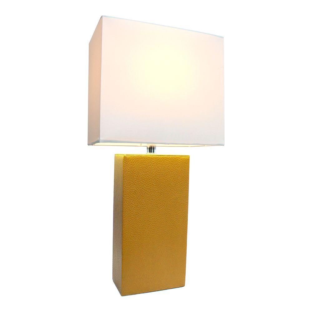 elegant designs avenue modern eggplant leather table tan lamps crate and barrel marilyn accent lamp with white fabric shade egp the square legs dining set bench hammered brass