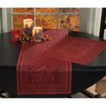 elegant lace fall table settings for your holiday season autumn placemat runner lifestyle accent tabletop accents drawer mirrored bedside round marble gold and glass tablecloth 150x150