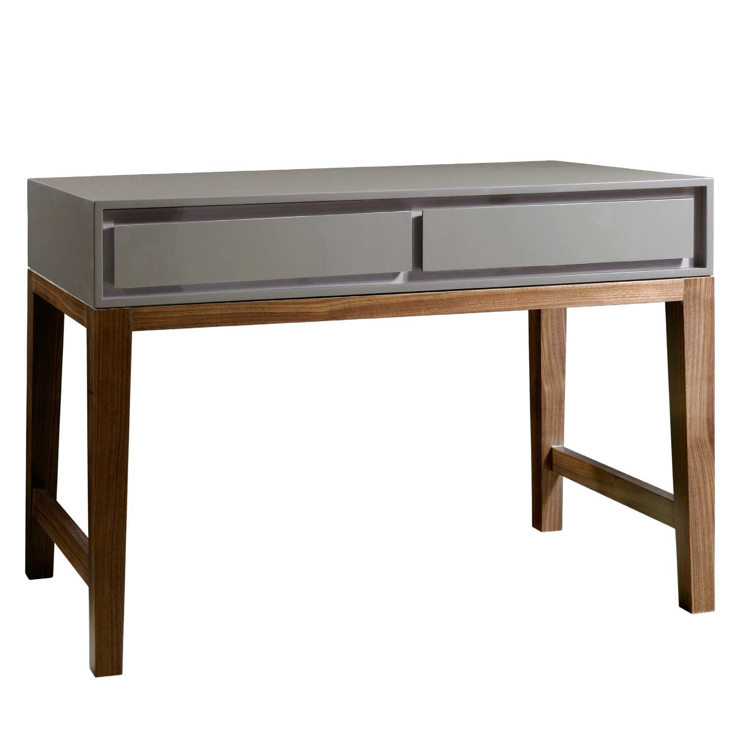 elegant modern accent table grey painted two drawer inspiration furniture midcentury custom gray design for bedroom decors ideas formidable home decorating wood big round