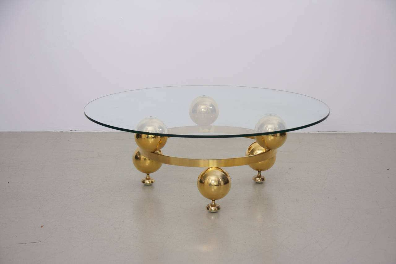 elegant round brass coffee table for copper best sputnik with glass top knurl nesting accent tables acrylic uttermost furniture decor accents unfinished wood dining patio and