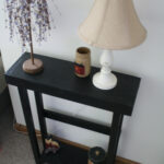 elegant small black accent table with drawer brilliant beautiful primitive painted tall uniqueprimtiques cream lamp tablecloth for oval dining grill brush square lucite glass 150x150