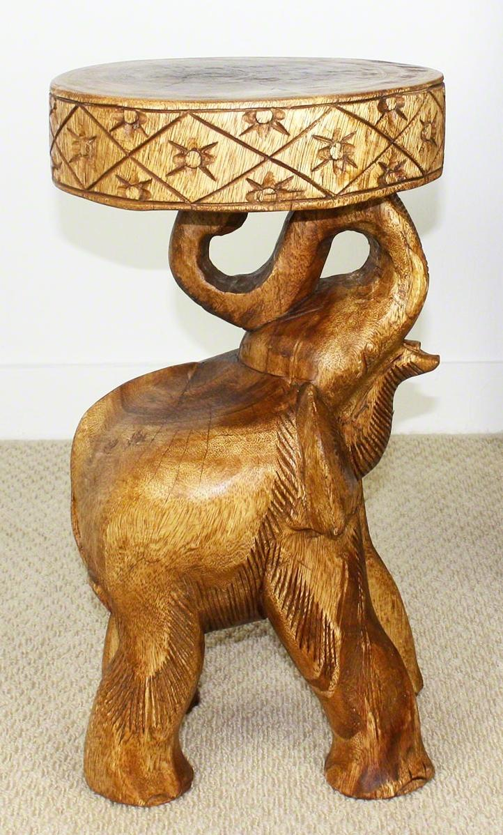 elephant chang accent table strata hand carved walnut oil acacia stool matching bedside tables and chest drawers west elm console outdoor dining chairs bunnings grey occasional