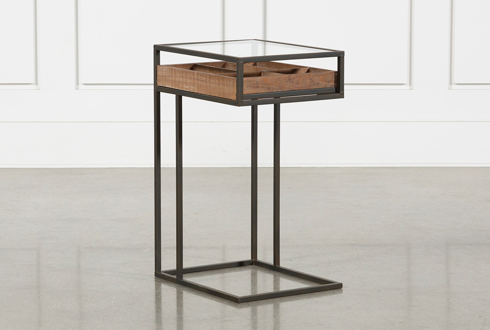 ella accent table living spaces black metal wood storage room essentials qty has been successfully your cart bombay company furniture cherry dining tiered diy barndoor hampton bay