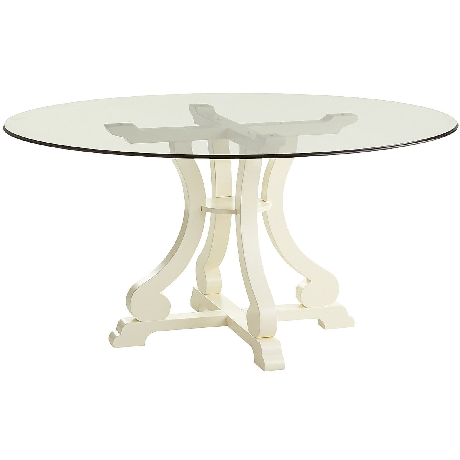 ella antique white round dining table base pier small square accent tables glass wine rack one floor lamps front hall ethan allen ballan wooden bar modern kitchen clocks nautical