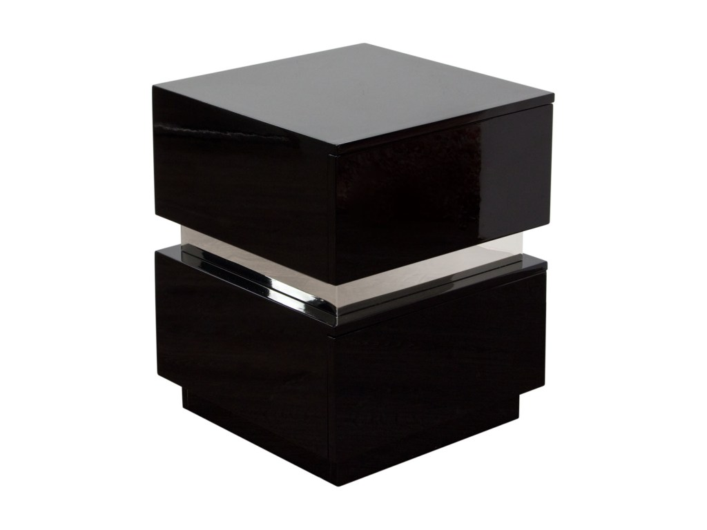 elle two drawer accent table high gloss diamond sofa del sol furniture products color ellensbl end tables outdoor couch black farmhouse patio clearance inexpensive dining sets