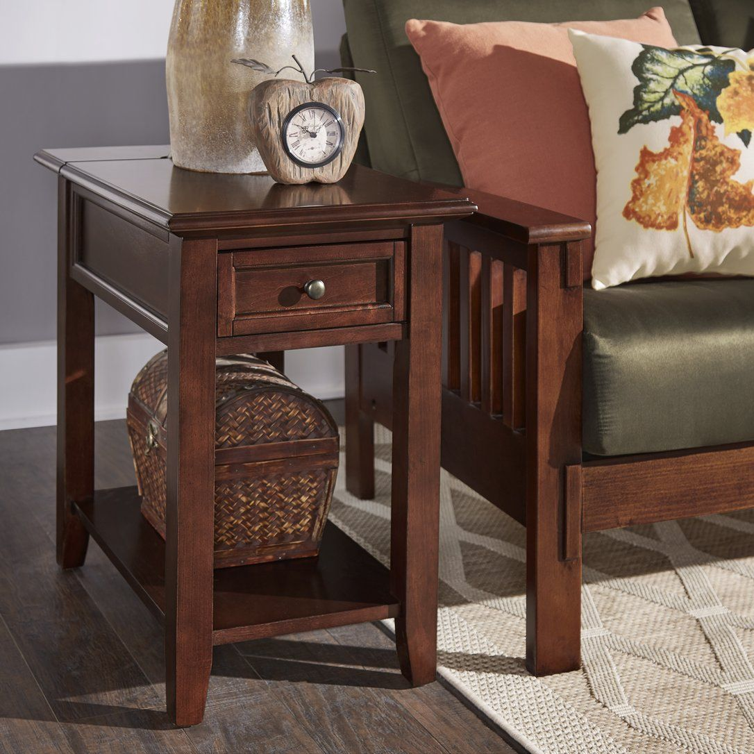ellicott end table with storage living room birch hadley accent drawer round garden argos coffee target kitchen drawers extra thin console crochet runner farmhouse dining set