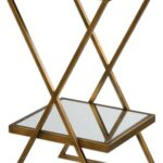 elling golden bronze accent table from uttermost coleman skinny round gold brass side antique black bedside outdoor furniture clearance modern mirrored coffee kohls floor lamps 150x150