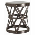 ello side table gold hammered accent wood iron coffee red dining room chairs barnwood west elm carpets reclaimed barn furniture patio tile with umbrella hole chest tall shelves 150x150