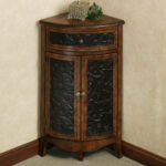 elmhurst black corner accent table with drawer doors wooden trestle bunnings dale lamps dining napkins outdoor accents ceiling curtain rod buffet cabinet miniature gold and mirror 150x150