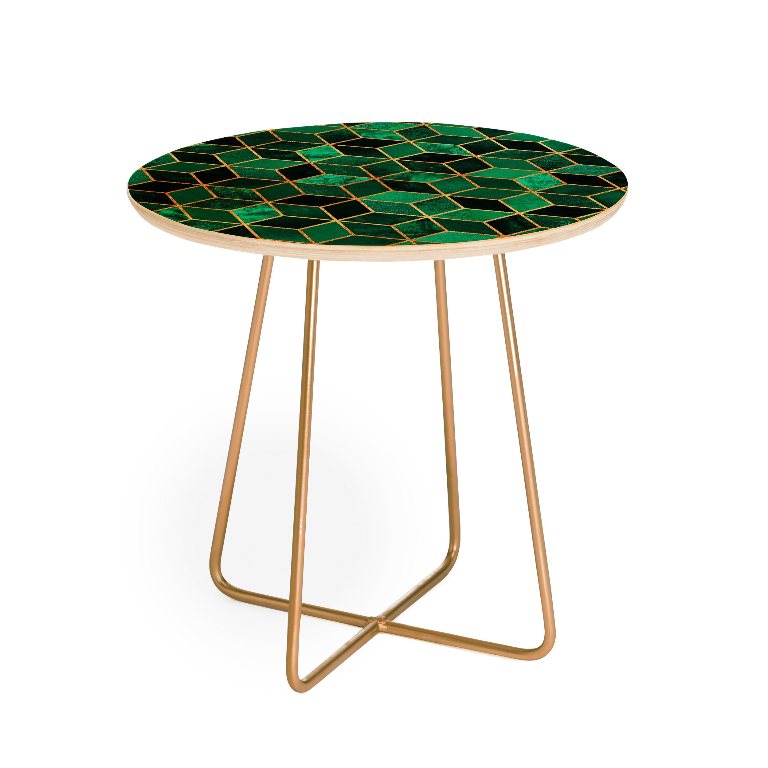 emerald cubes round side table elisabeth fredriksson white background square aston gold green accent west elm hamilton leather sofa loveseat sleeper hot water heater jcpenney
