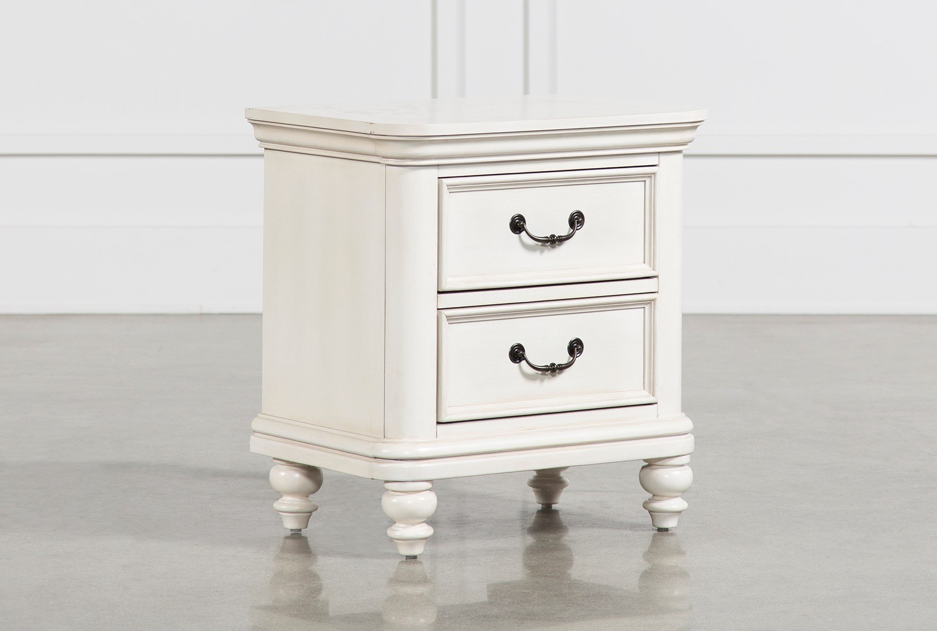 emily nightstand living spaces city storage white qty has been successfully your cart pedestal accent table long wall mirror unfinished furniture concealed compartments beach