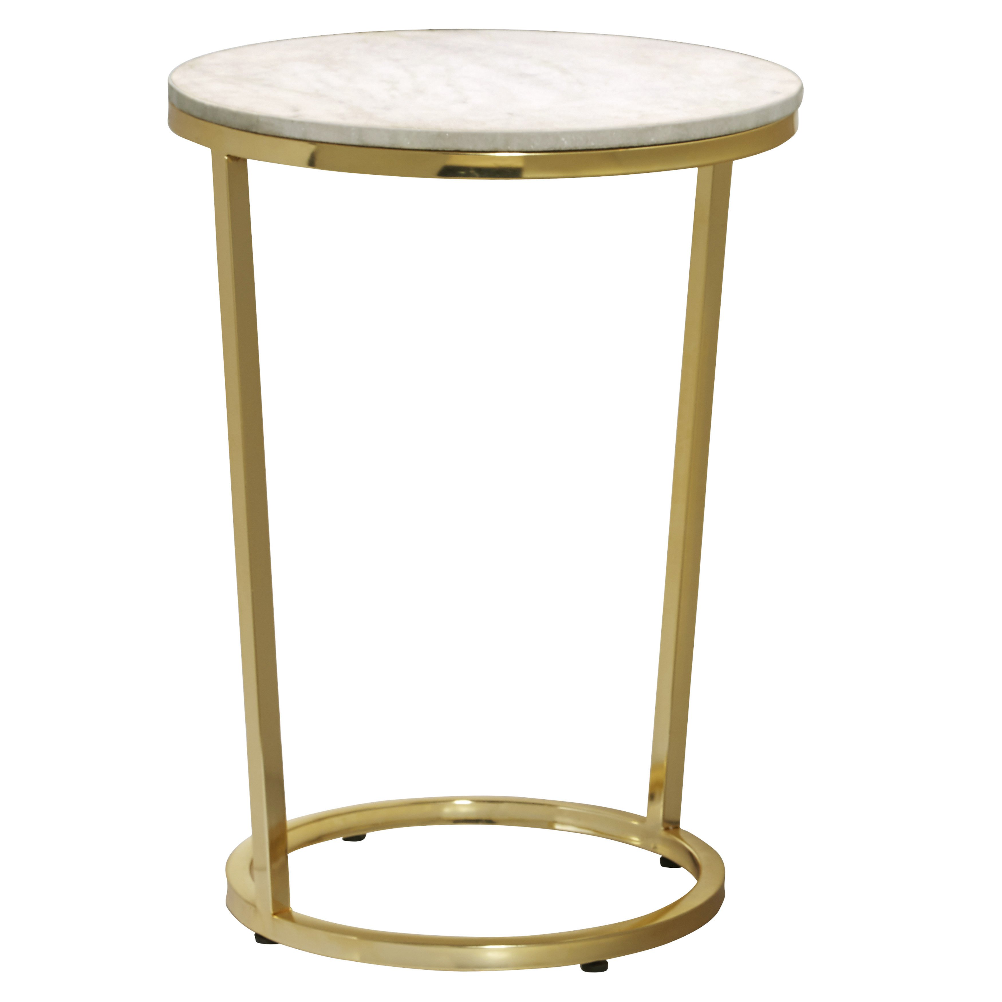 emory white and gold marble round accent table free shipping top today garden drum metal cube side bunnings outdoor furniture chairs foyer pieces aluminum patio bell acrylic