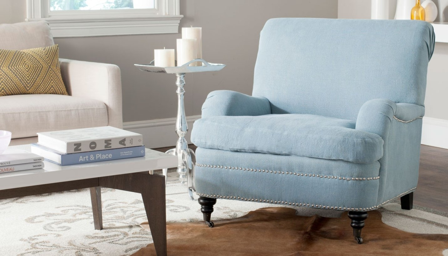 Light Blue Accent Table - Grottepastenaecollepardo ...